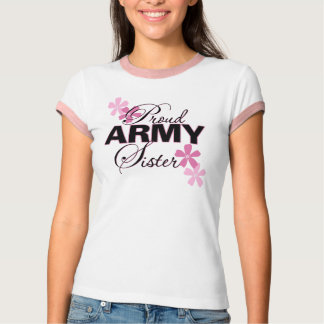 Proud Army Sister T Shirt