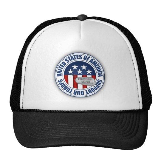 Proud Army Sniper Trucker Hat