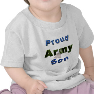 Proud Army Son Toddler Tee