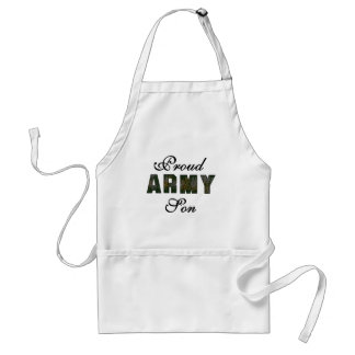Proud Army Son Tshirts and Gifts Adult Apron