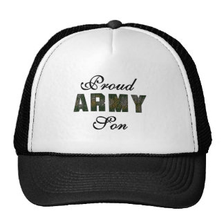 Proud Army Son Tshirts and Gifts Mesh Hats