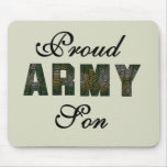 Proud Army Son Tshirts and Gifts Mouse Pad