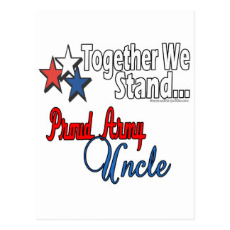 Proud Army Uncle Postcard