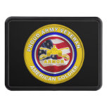 Proud Army Veteran Armor Soldier  Hitch Cover