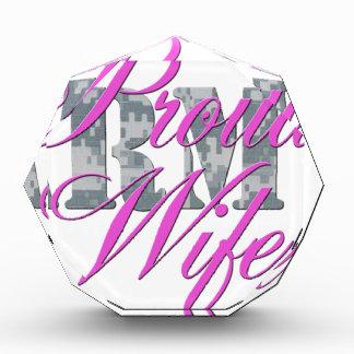 proud army wife acu award