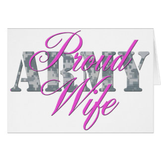 proud army wife acu card