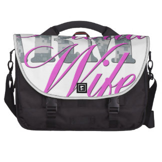 proud army wife acu bag for laptop