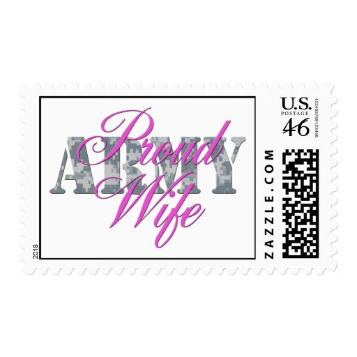 proud army wife acu stamp