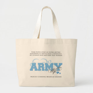 Proud ARMY Wife Bag
