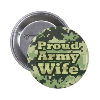 Proud Army Wife Pin