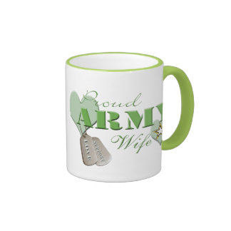 Proud Army Wife Coffee Cup Mug