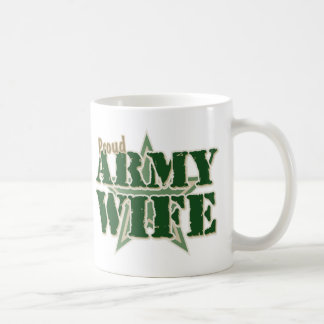 Proud Army Wife Coffee Mug