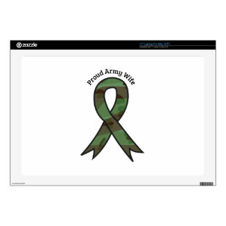 Proud Army Wife Decals For Laptops
