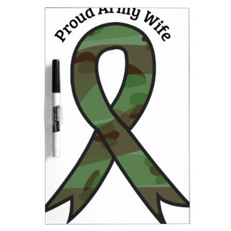 Proud Army Wife Dry-Erase Whiteboards
