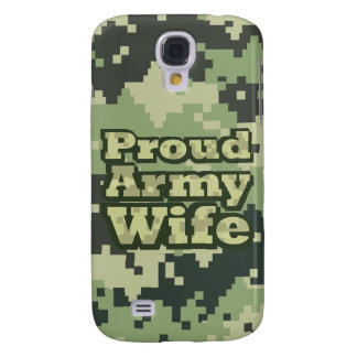Proud Army Wife Galaxy S4 Case