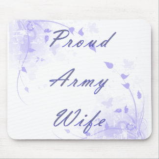 Proud Army Wife Mousepads