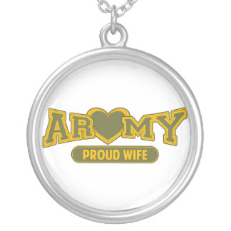 Proud Army Wife Custom Jewelry