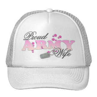 Proud Army Wife(pink) Trucker Hat