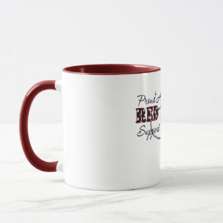 Proud Army Wife (Support My Soldier) Mug