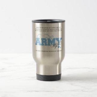 Proud ARMY Wife Travel Mug