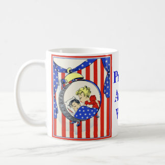 Proud Army Wife vintage image Coffee Mug