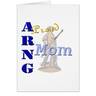 Proud ARNG Mom Card