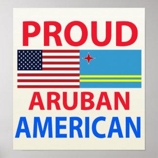 Proud Aruban American Posters