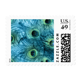 Proud as a Peacock Set 1112 Postage Stamps