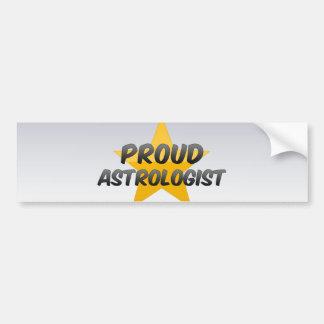 Proud Astrologist Car Bumper Sticker