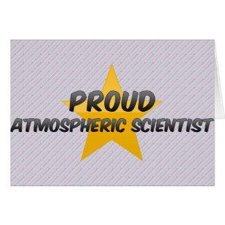 Proud Atmospheric Scientist Greeting Card