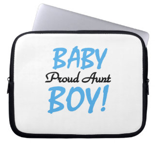Proud Aunt Baby Boy T-shirts and Gifts Laptop Computer Sleeve