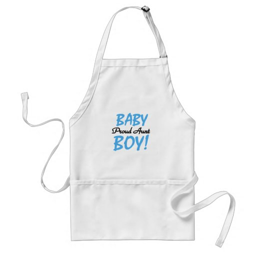 Proud Aunt Baby Boy Tshirts and Gifts Aprons