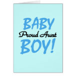 Proud Aunt Baby Boy Tshirts and Gifts Cards