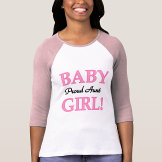 Proud Aunt Baby Girl Tshirts and Gifts