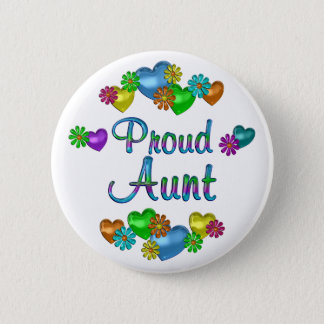 Proud Aunt Button