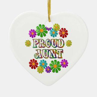 Proud Aunt Ceramic Ornament