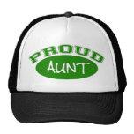 Proud Aunt (Green) Trucker Hat