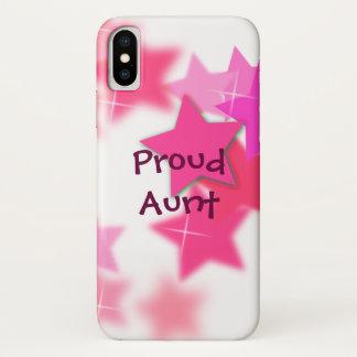Proud Aunt iPhone X Case