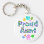 Proud Aunt Key Chains