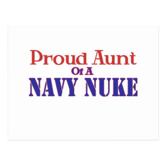 Proud Aunt of a Navy Nuke Postcard