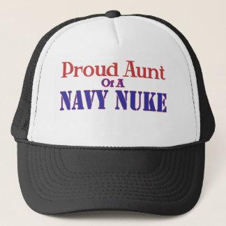 Proud Aunt of a Navy Nuke Trucker Hat