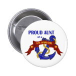 Proud Aunt of a US Sailor Pin