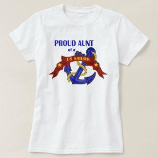 Proud Aunt of a US Sailor T-Shirt