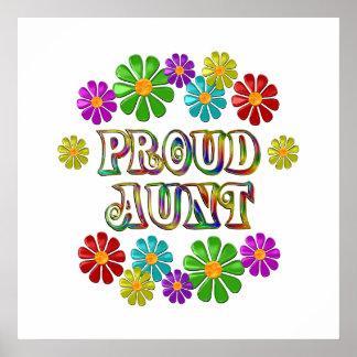 Proud Aunt Poster