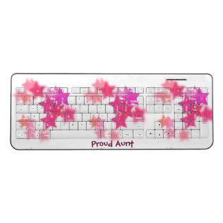 Proud Aunt Wireless Keyboard
