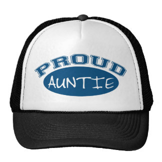 Proud Auntie (Blue) Trucker Hat