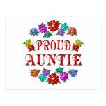 PROUD AUNTIE POSTCARDS