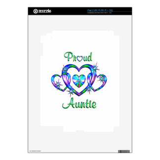 Proud Auntie Skin For iPad 2