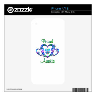 Proud Auntie Skin For iPhone 4S