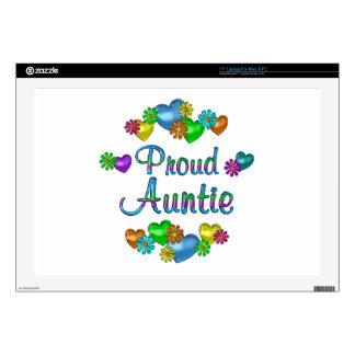 Proud Auntie Laptop Decals